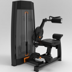 Abdos machine crunch atletisport