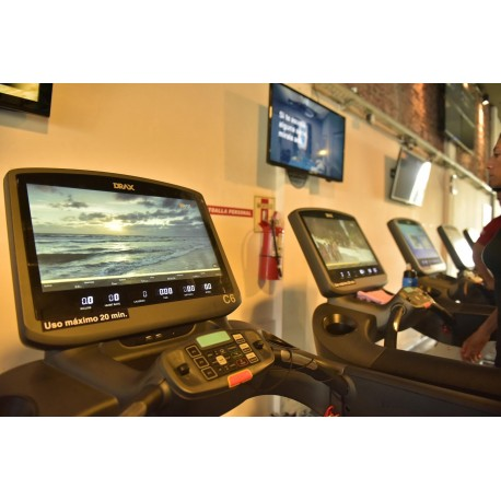 Tapis de course DRAX (console TV toutes options)